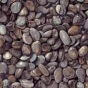 Tissu patchwork imitation galets gris foncé