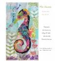 Mini Havana, l'hippocampe en fusing - fiche de patchwork contemporain