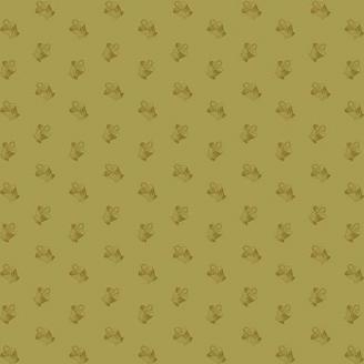 Tissu patchwork paniers fond vert olive - Braveheart d'Edyta Sitar