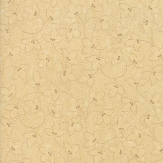 Tissu patchwork classique lierre ton sur ton sable - Kansas Troubles