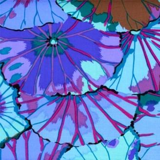 Kaffe Fassett Lotus Leaf bleu