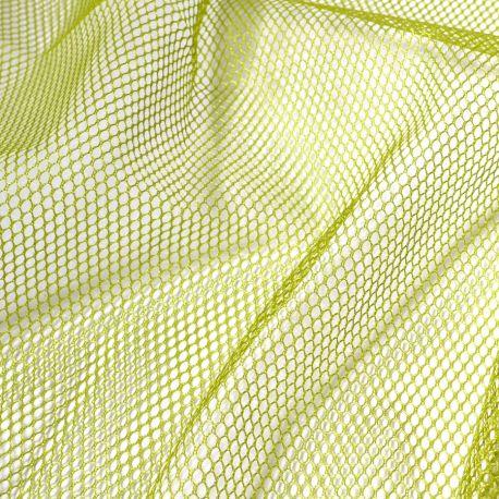 Tissu mesh (tissu filet) by Annie - Vert Pomme