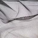 Tissu mesh (tissu filet) by Annie - Noir
