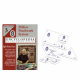 Pack set E + Volume 3 de l'encyclopédie du patchwork de Marti Mitchell (anglais)