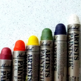 Assortiment de 6 couleurs d'Artist Paintstik de Markal®