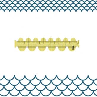 Coquillage - Règle à quilter Westalee