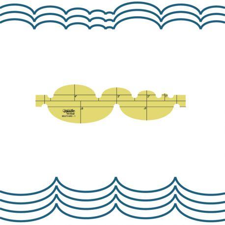 Multi Arc - Règle à quilter Westalee