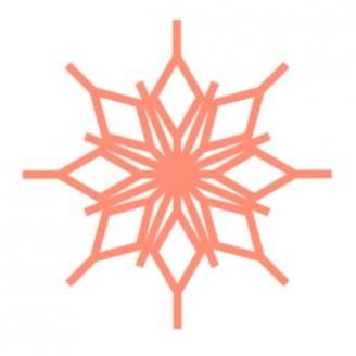 Flocon diamant  (Snowflake 1 & 2) - Règles à quilter Westalee_
