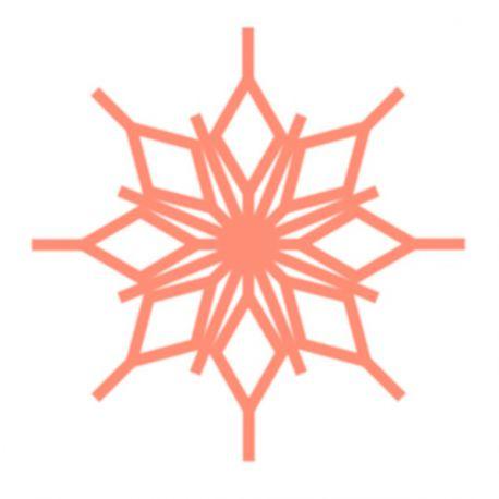 Flocon diamant  (Snowflake 1 & 2) - Règles à quilter Westalee