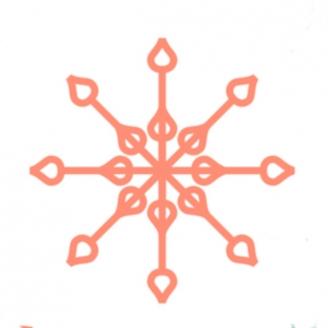 Flocon poire  (Snowflake 7 & 8) - Règles à quilter Westalee