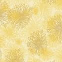 Tissu patchwork dahlia fond crème Custard - Floral Elements