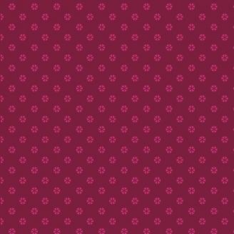 Tissu patchwork tourbillons prune ton sur ton - Indie Folk