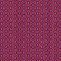 Tissu patchwork ovales violine Beaujolais - Oval Elements