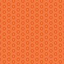 Tissu patchwork ovales mandarine - Oval Elements