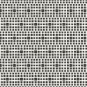 Tissu patchwork carrés graphiques noir et blanc - Squared Elements