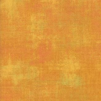 Tissu patchwork faux-uni patiné caramel - Grunge de Moda