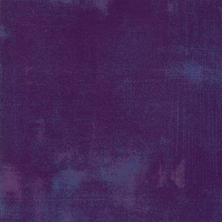 Tissu patchwork faux-uni patiné baie violette - Grunge de Moda