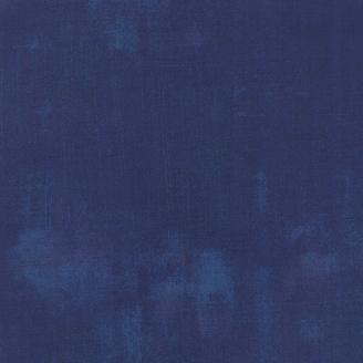 Tissu patchwork faux-uni patiné Marine - Grunge de Moda