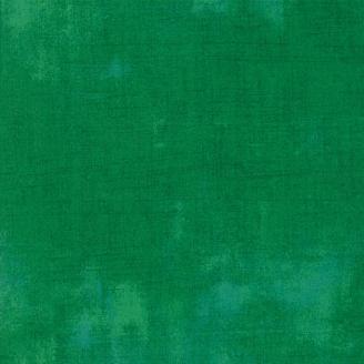 Tissu patchwork faux-uni patiné vert Leprechaun - Grunge de Moda