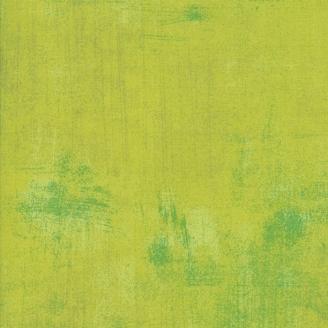 Tissu patchwork faux-uni patiné vert cocktail - Grunge de Moda
