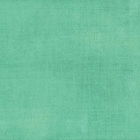 Tissu patchwork faux-uni patiné aqua - Grunge de Moda