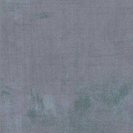 Tissu patchwork faux-uni patiné gris fumée - Grunge de Moda