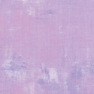 Tissu patchwork faux-uni patiné mauve freesia - Grunge de Moda