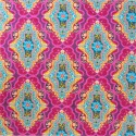 Tissu patchwork Brit boutique médaillon fuchsia - Legendary
