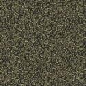 Tissu patchwork inspiration Klimt volutes noires - Gold Scroll