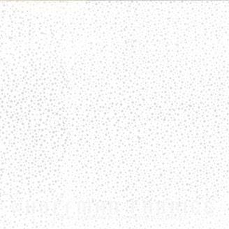 Tissu batik blanc/gris Mercure pétillant