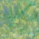 Tissu batik vert Kiwi pétillant