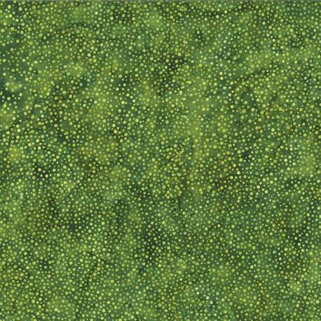 Tissu batik vert pastèque pétillant