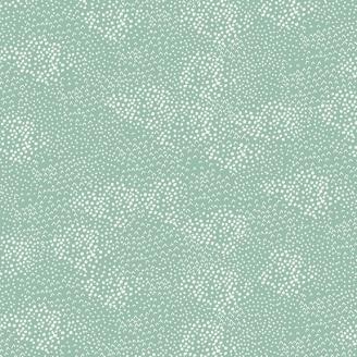 Tissu patchwork petits motifs Tempête turquoise fané - Forest