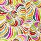 Tissu patchwork spirales en nuances chaudes - In the groove