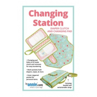 Patron de la station de change Changing Station - By Annie (en anglais)
