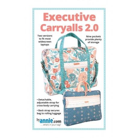 Patron de la sacoche Executive Caryalls 2.0 - By Annie (en anglais)