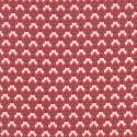Tissu patchwork losange floral rouge - Chafarcani de French General