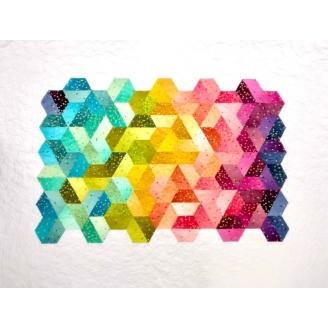Prisme - modèle de patchwork à télécharger