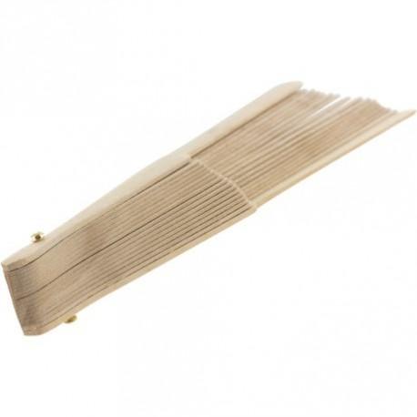 Eventail, monture en bois pour fabriquer un éventail