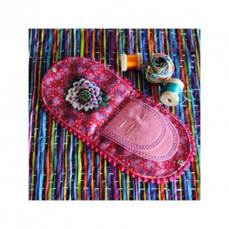 Porte-aiguilles Mare Enchantée - kit de couture
