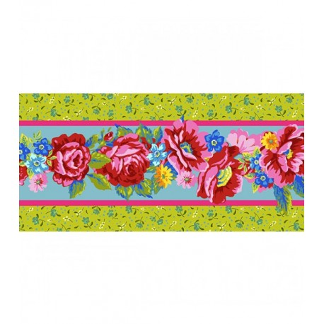 Bande de Velours Odile Bailloeul Confetti vert - 50 cm