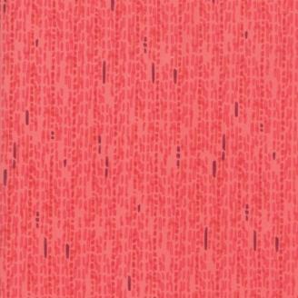 Tissu patchwork pluie rouge ton sur ton - Painted Meadow de Moda