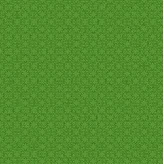 Tissu patchwork bouclettes ton sur ton vert perroquet
