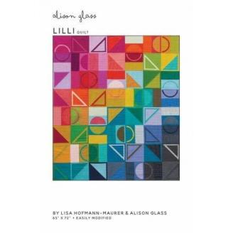 Lili Quilt - Modèle de patchwork par Alison Glass