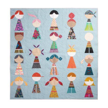Happy Together - Modèle de patchwork