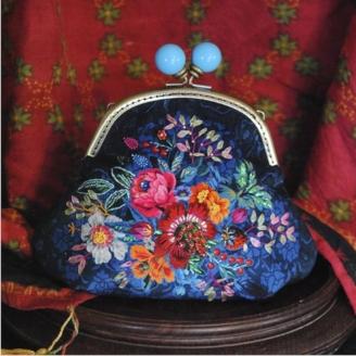 Pochette Cachemire - kit de couture