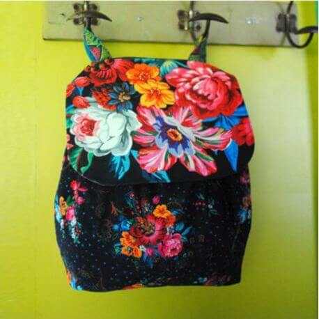 Sac à dos Istambul - kit de couture Odile Bailloeul