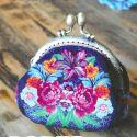 Porte-monnaie Cachemire - kit de couture