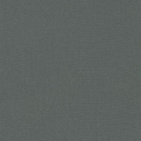 Tissu patchwork uni de Kona - Graphite