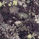 Tissu patchwork fleurs variées en camaïeu de gris - Stiletto de Basic Grey